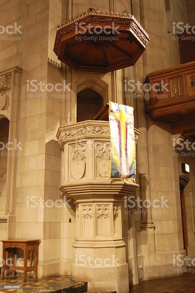 Church interior royalty-free stock photo
