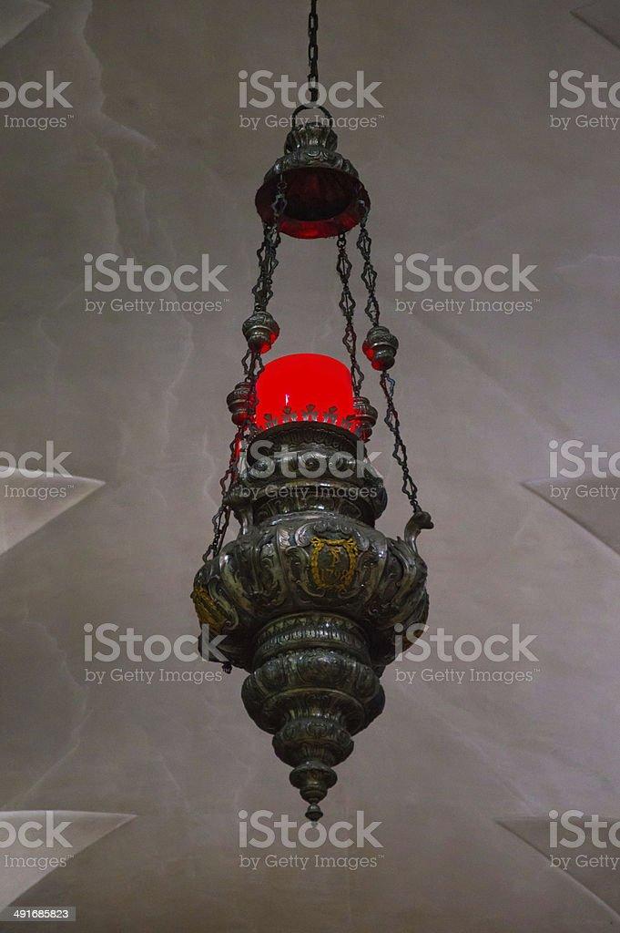 Church lamp royalty-free stock photo