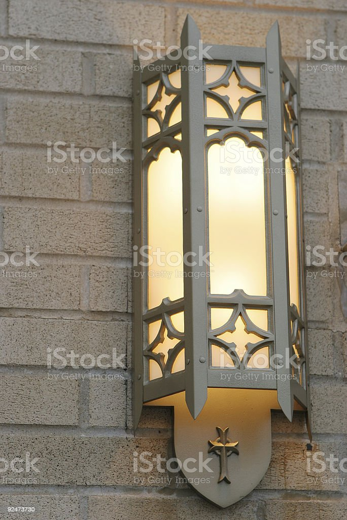 Church light royalty-free stock photo