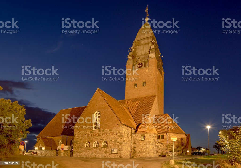 Church Masthugget in Stigberget, Gothenburg, Sweden royalty-free stock photo