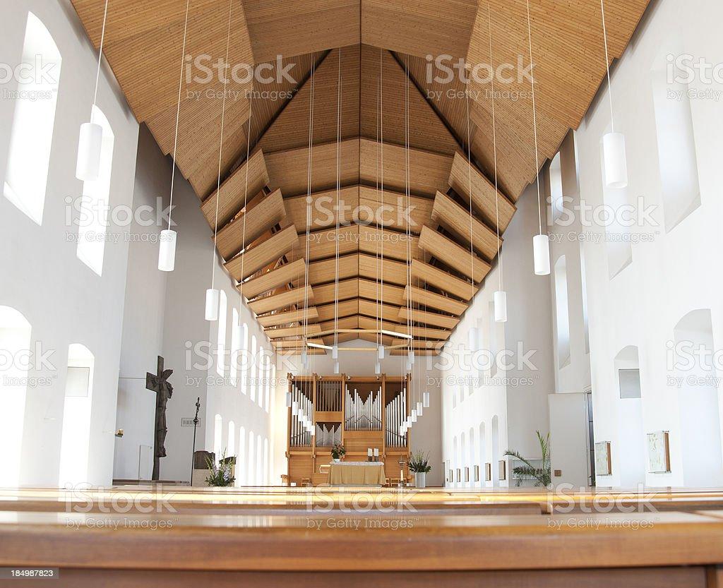 Church Moderne Kirche Von Innen stock photo | iStock