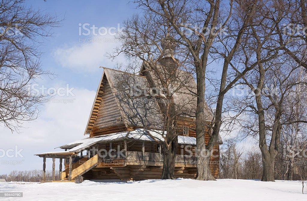 Nikola's church Lizenzfreies stock-foto