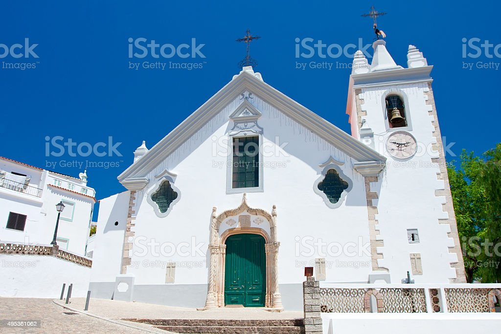 Church od our Lady, Alte, Portugal. stock photo