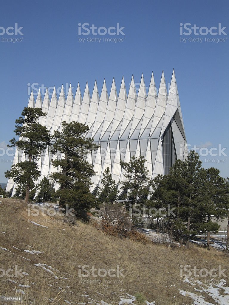 church of air force royalty-free stock photo