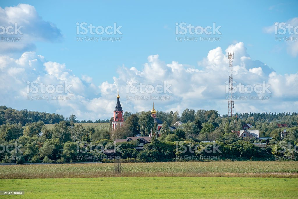 Erzengel-Michael-Kathedrale im Dorf Michailowskoje, Moskau Region – Foto