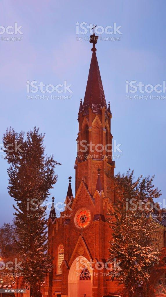 Église de l'Assomption de la Vierge Marie à Irkoutsk. Russie - Photo