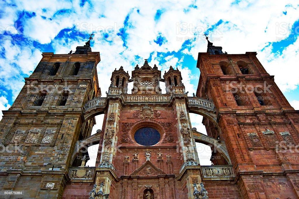 Iglesia de Astorga, León, España - foto de stock