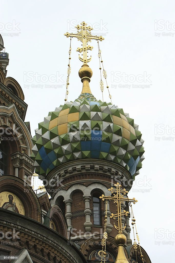 Church of blood St. Petersburg Russia royalty-free stock photo