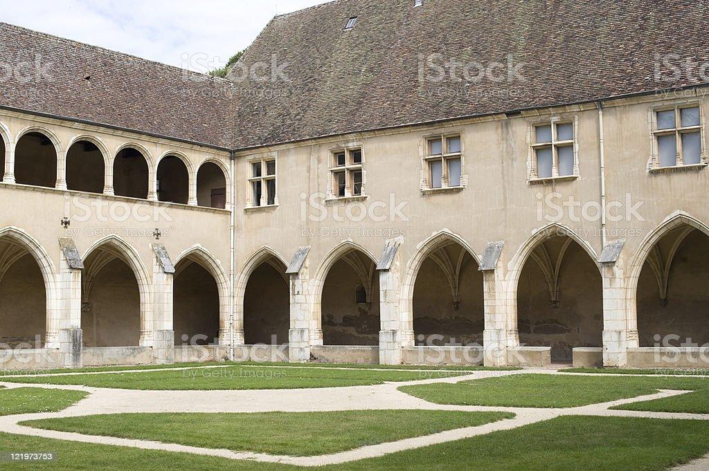 Église de Brou (Bourg-en-Bresse), Cloître - Photo