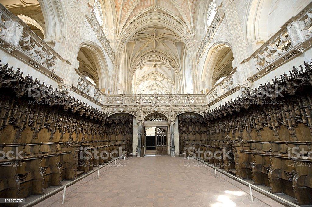 Église de Brou (Bourg-en-Bresse), intérieur: Choeur - Photo