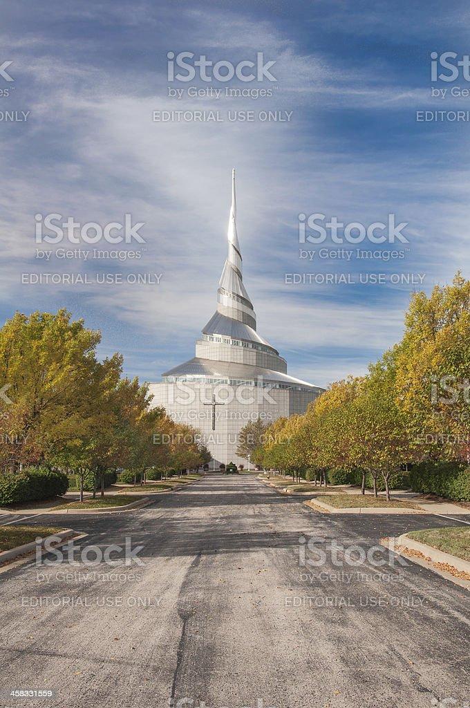 Church of Christ royalty-free stock photo