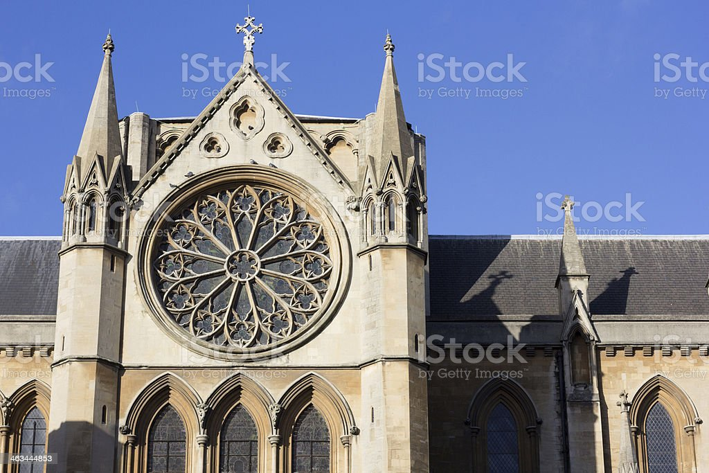 Church of Christ the King in Gordon Square, London royalty-free stock photo