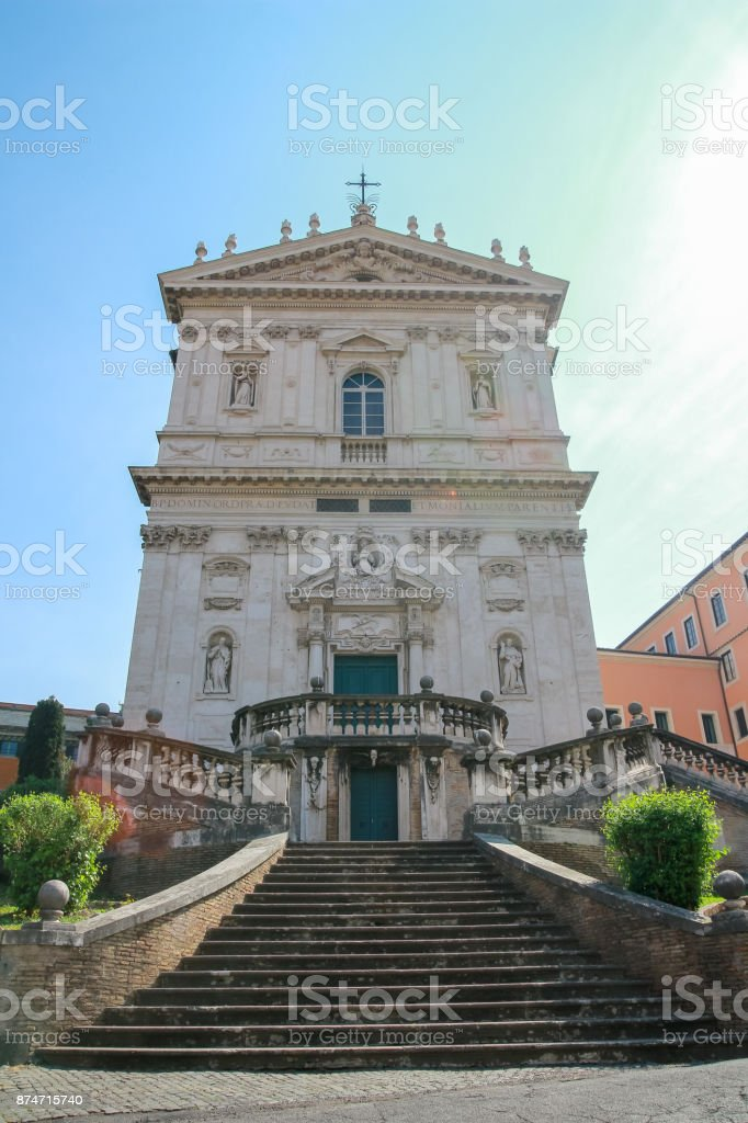 Church of Dominican saints and sister stock photo