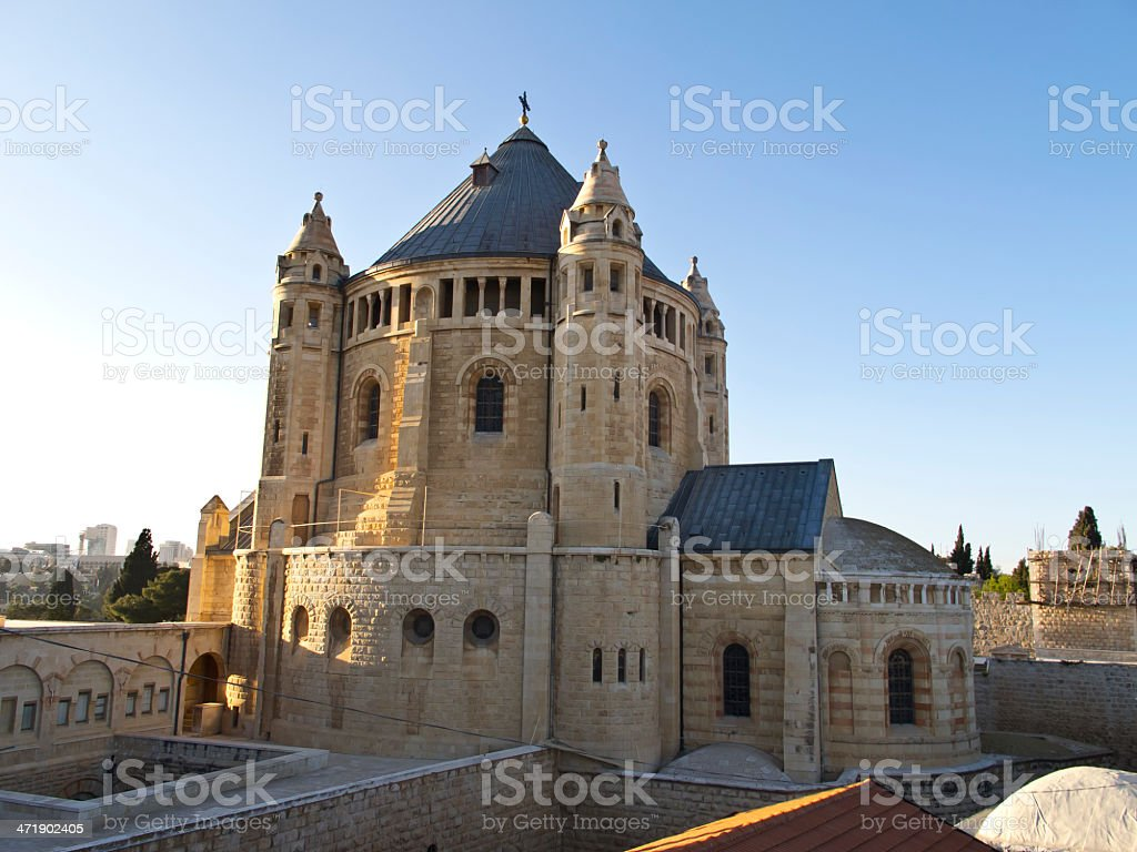 Church of Dormition stock photo
