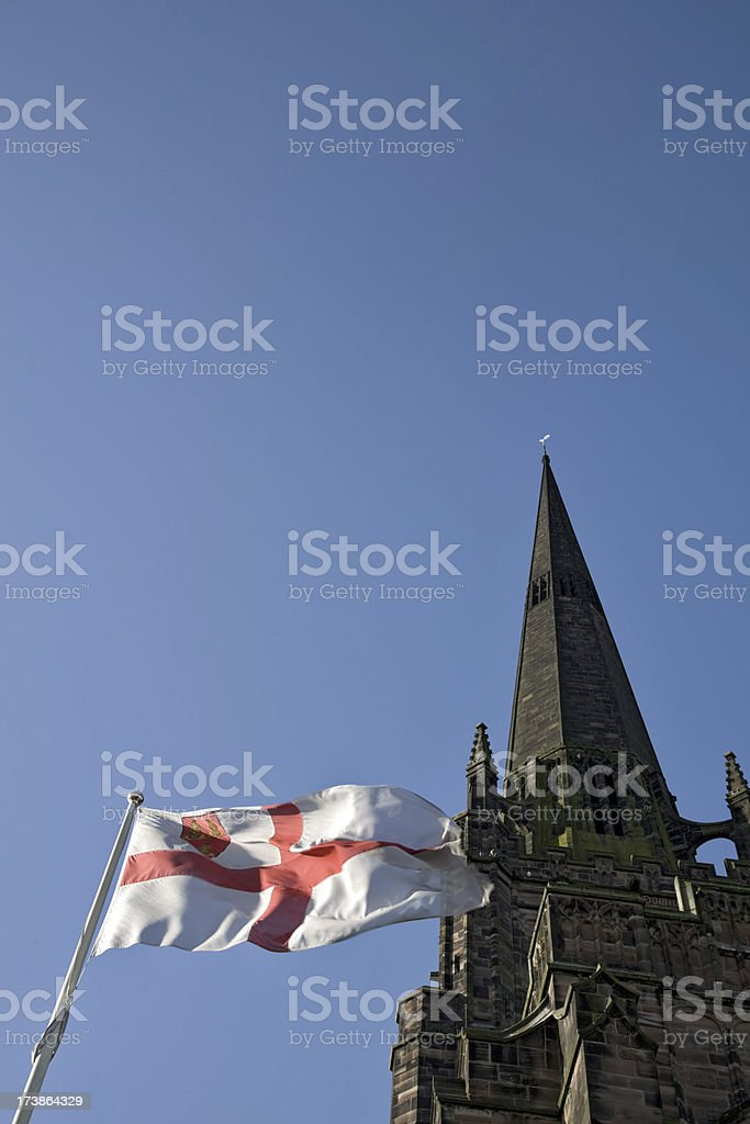 Church of England-Click for related images royalty-free stock photo