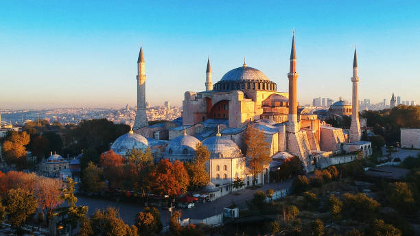 Church of Hagia Sophia, Istanbul, Turkey stock photo