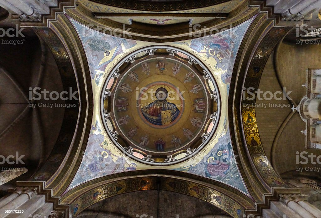 Church of Holy Sepulchre stock photo
