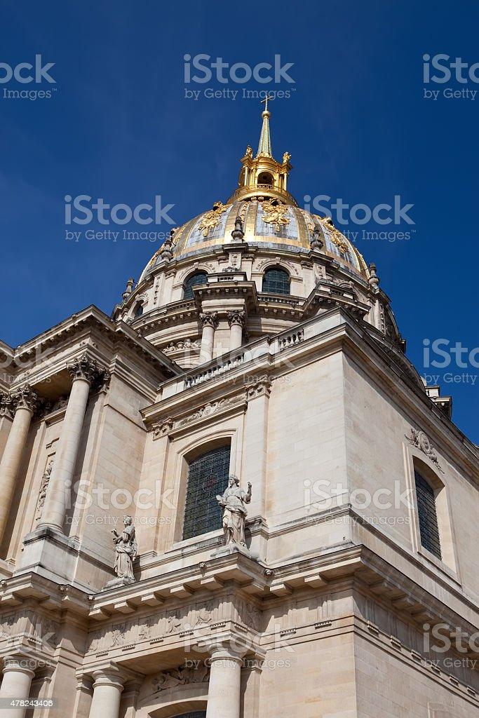 Iglesia De Hotel De Los Invalidos Paris Francia Foto De Stock Y Mas