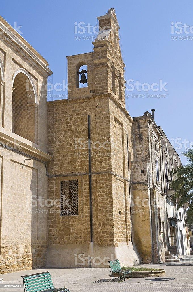 Church of Immacolata. Mesagne. Puglia. Italy. royalty-free stock photo