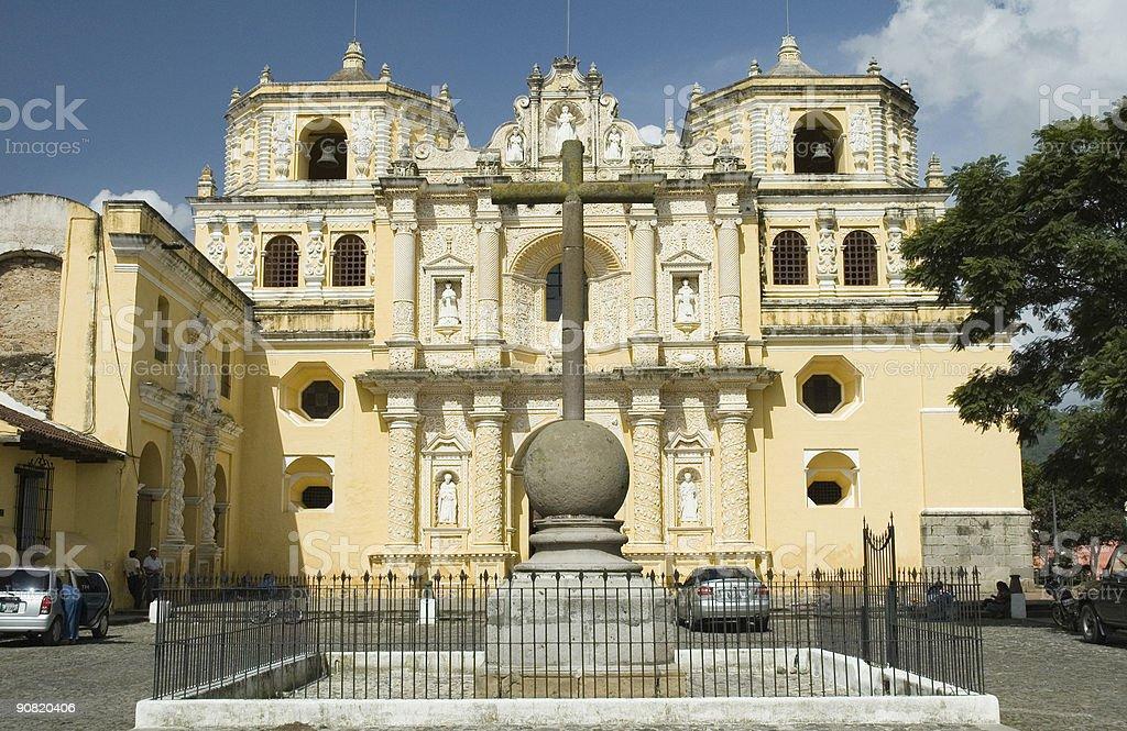 church of La Merced royalty-free stock photo