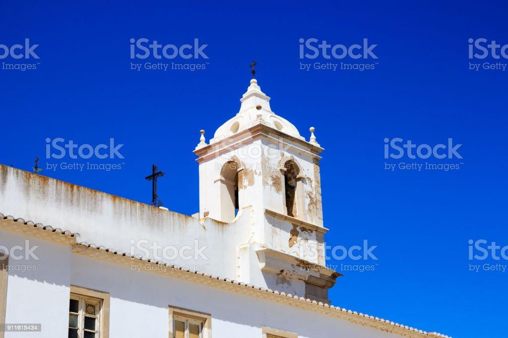 Church of Lagos stock photo