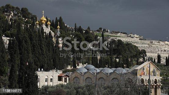 Church of Mary Magdalene Jerusalem mount of olives