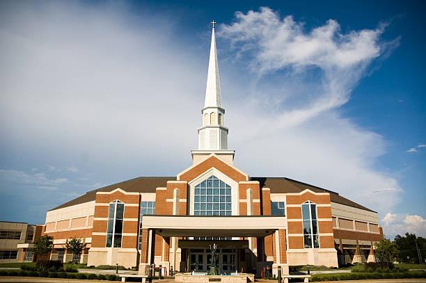 Church of Mega Proportions stock photo