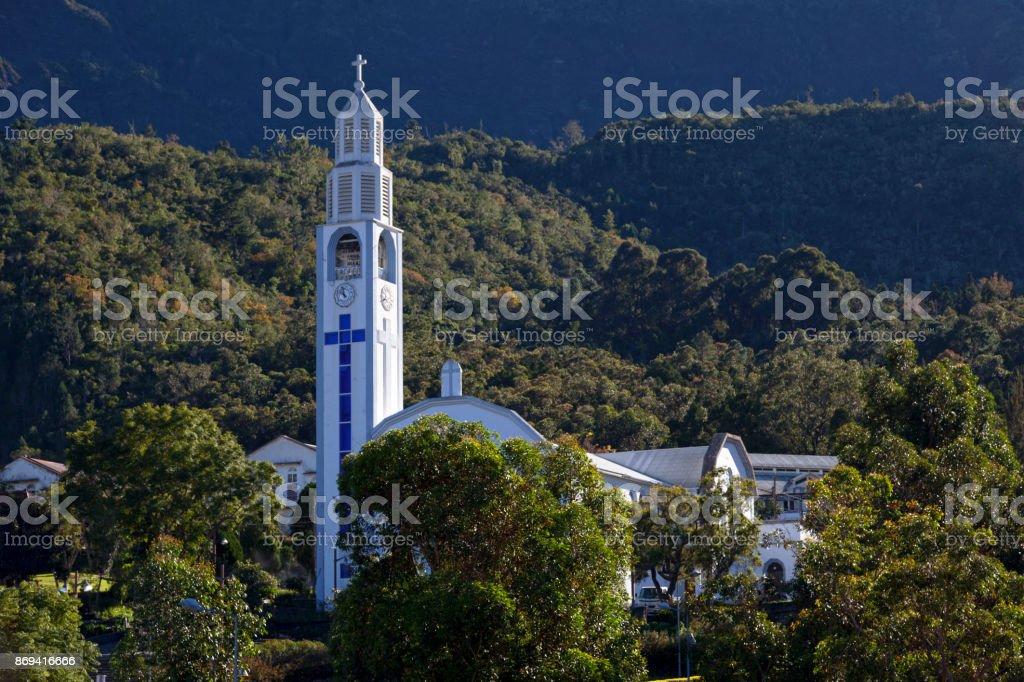 Église de Notre Dame des Neiges à Cilaos - Photo