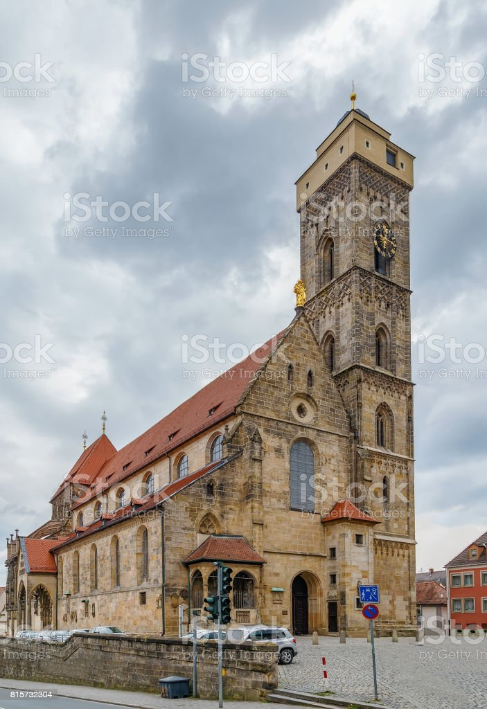 Church of Our Lady, Bamberg, Germany stock photo