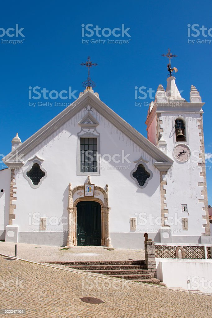 Church of our Lady in Alte stock photo