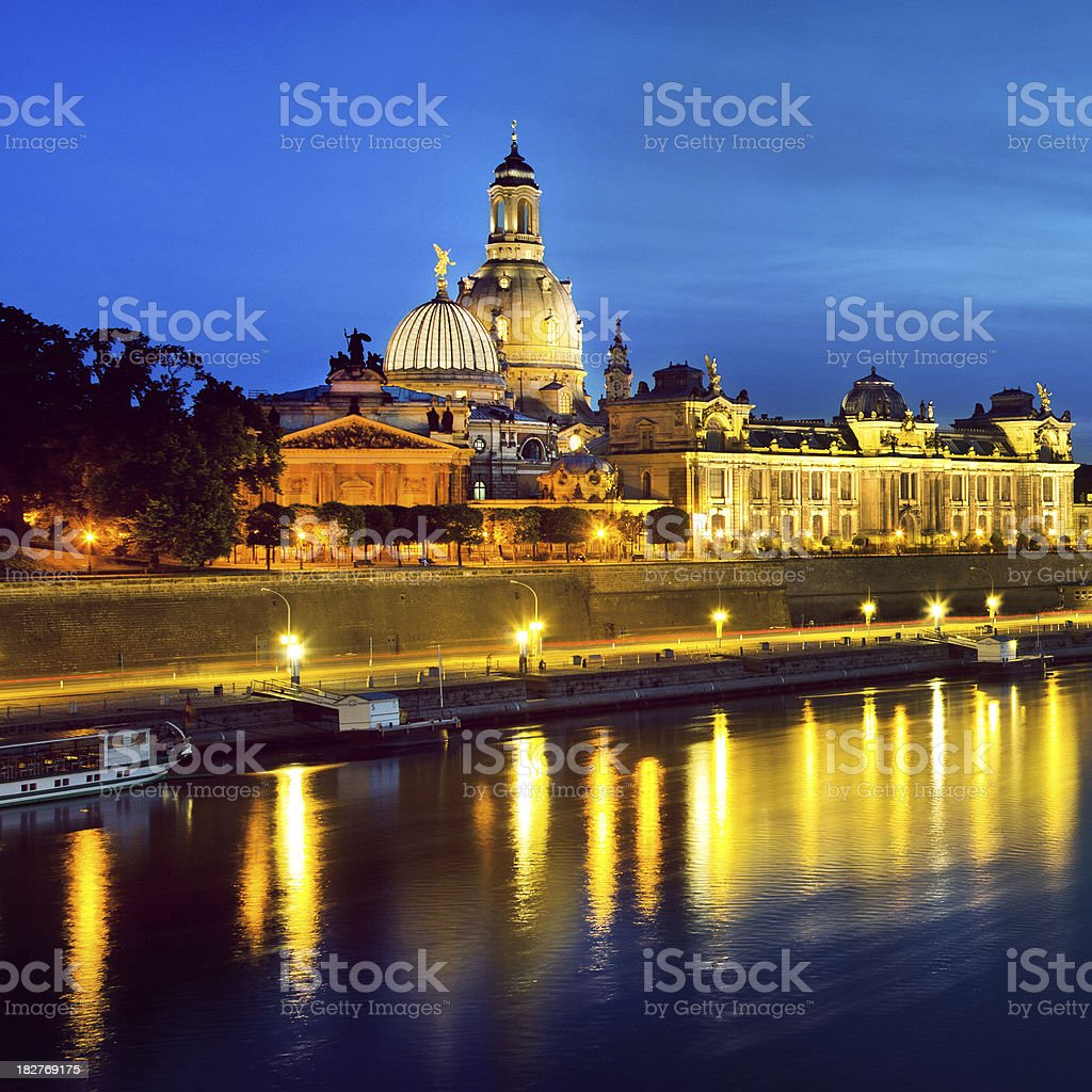 Church of our Lady in Dresden, Germany royalty-free stock photo