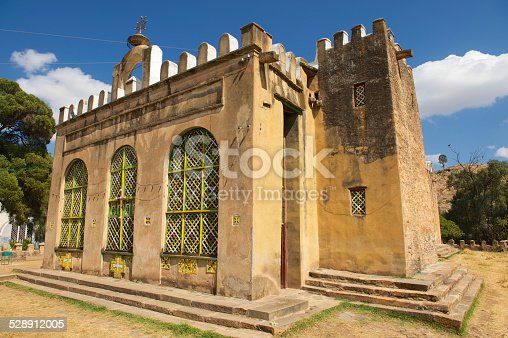 istock Church of Our Lady Mary of Zion, Aksum, Ethiopia. 528912005