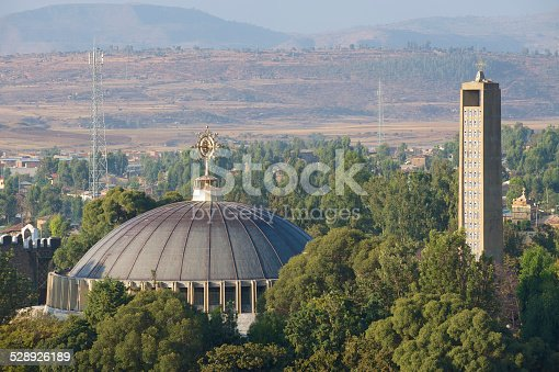 istock Church of Our Lady Mary of Zion, Aksum, Ethiopia. 528926189