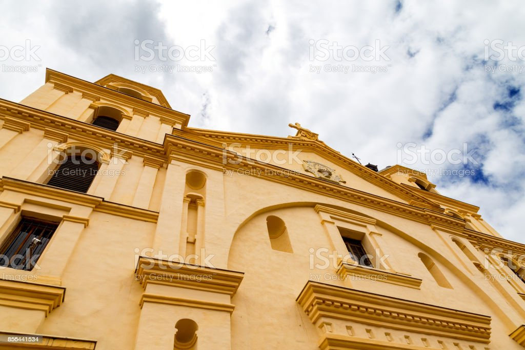 Church of Our Lady of Candelaria stock photo