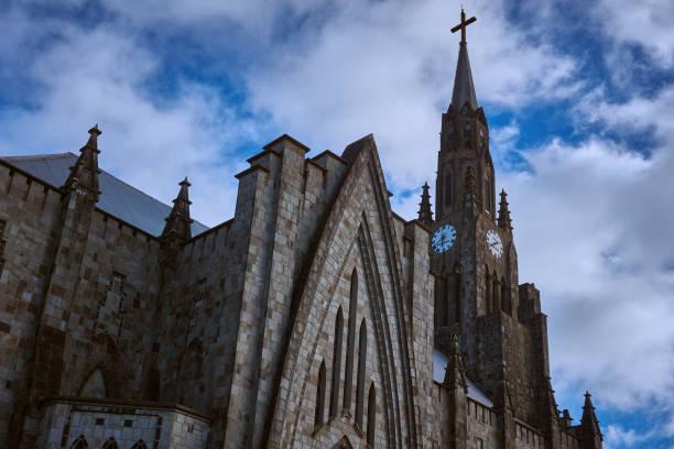 Kirche der Muttergottes von Lourdes, Canela, Rio Grande do Sul, Brasilien. – Foto