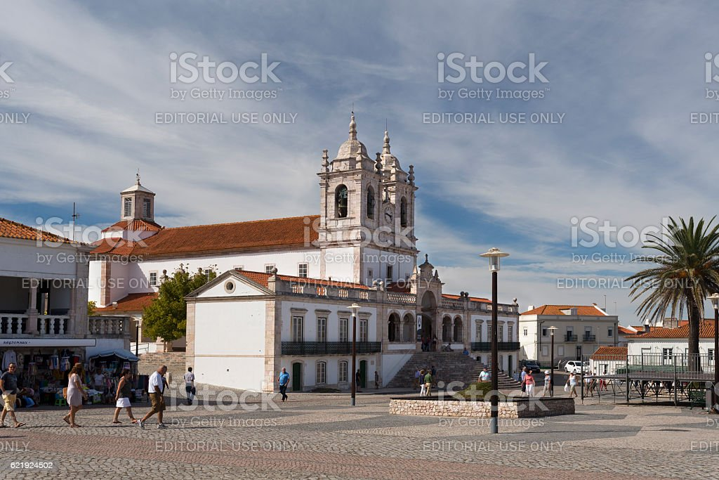 Church of Our Lady of Nazare stock photo