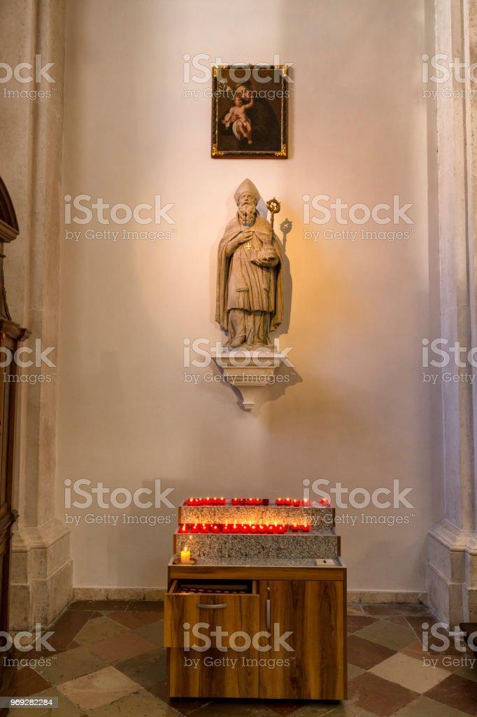 Church of Saint Blaise Altar stock photo
