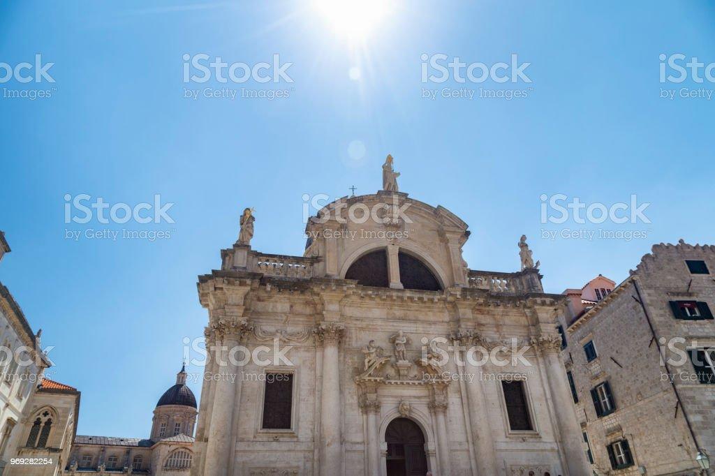Church of Saint Blaise stock photo