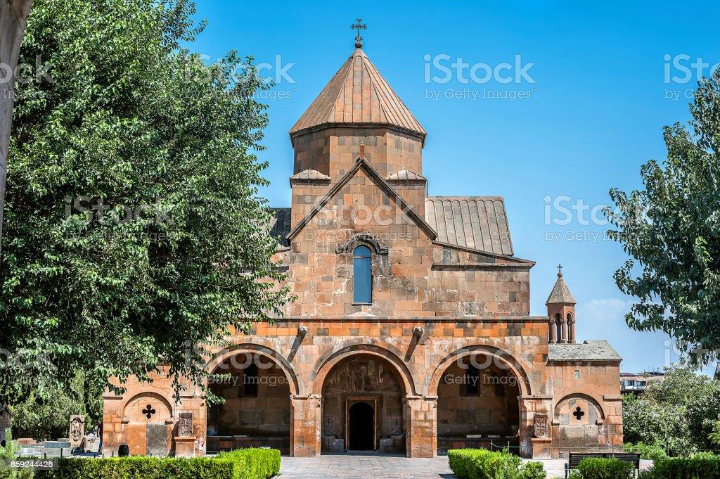 Church of Saint Gayane in Etchmiadzin. stock photo