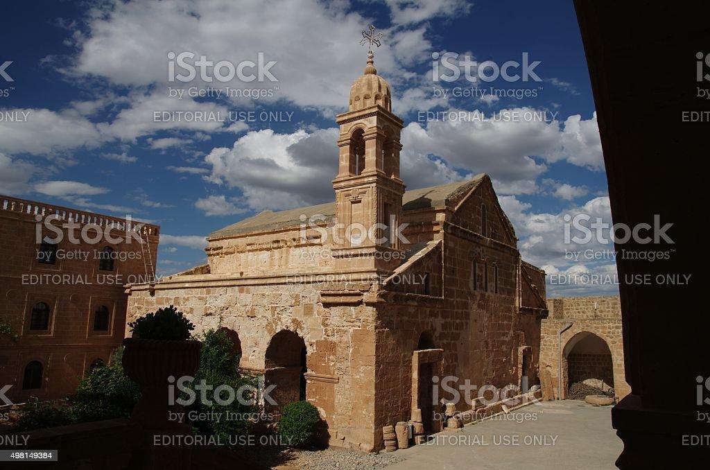 Church of Saint Jacob in Mardin stock photo