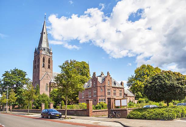 church of saint lambert in eindhoven - eindhoven city stockfoto's en -beelden