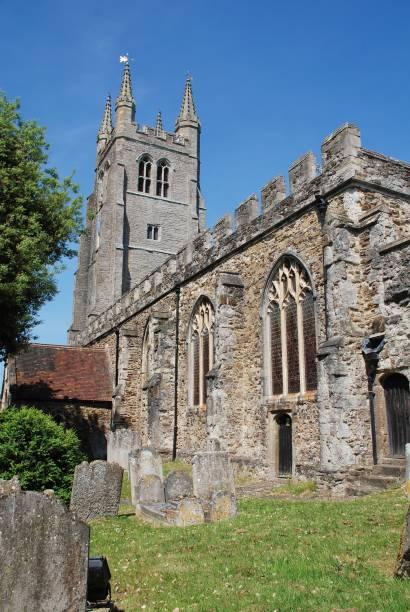 Church of Saint Mildred, Tenterden stock photo