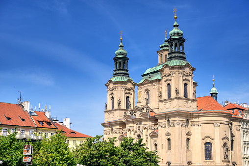 Church of Saint Nicholas in Prague, Czech Republic