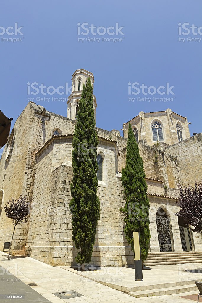Church of Saint Peter royalty-free stock photo
