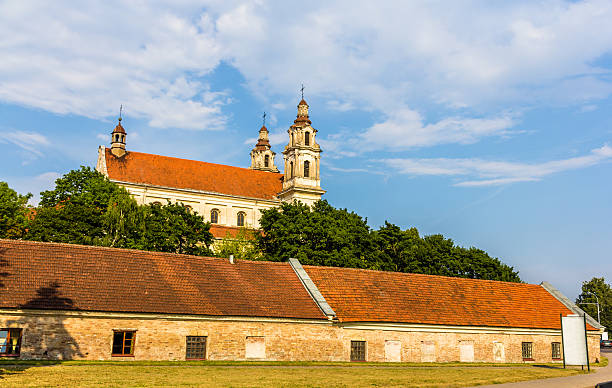 Igreja de Saint Raphael em Vilnius, Lituânia - foto de acervo