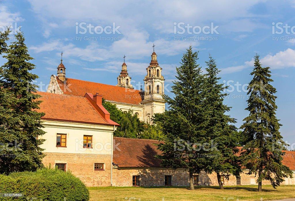 Iglesia de Saint Raphaël en Vilnius, Lituania - foto de stock