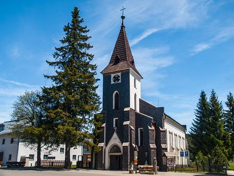 Church of Saint Stephen in Kvilda