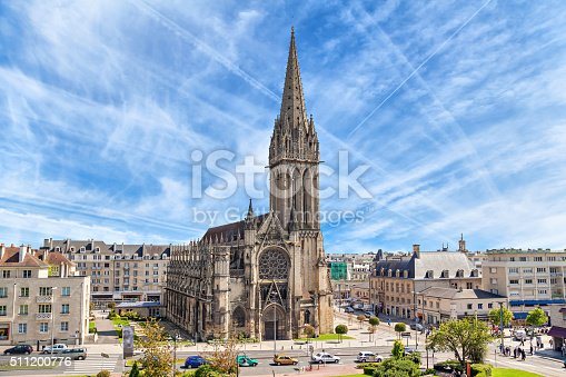 istock Church of Saint-Pierre in Caen, Normandy 511200776