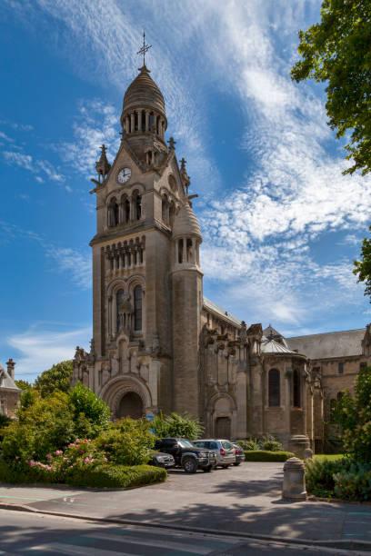 Church of Saint-Pierre-Saint-Paul in Épernay stock photo