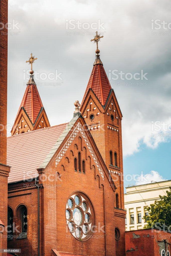Church Of Saints stock photo
